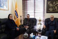 استقلال و فریده شجاعی همسر منصور پورحیدری