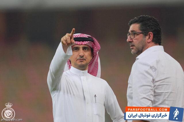خبری جالب برای پرسپولیسی ها از مدیر جنجالی النصر عربستان