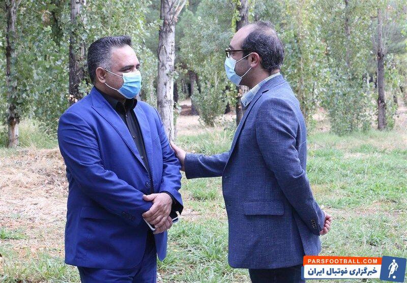 حمله مهدی عبدیان استقلال به سعید آذری