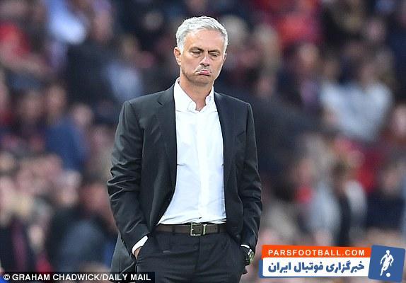 واکنش ژوزه مورینیو به دورتر شدن از صدر جدول لیگ برتر انگلیس