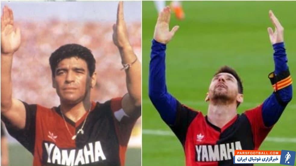 ادای احترام خاص مسی به مارادونا اما نه تنها برای او یک کارت زرد به همراه داشت بلکه هزینهای سه هزار یورویی هم روی دست باشگاه بارسلونا گذاشت.
