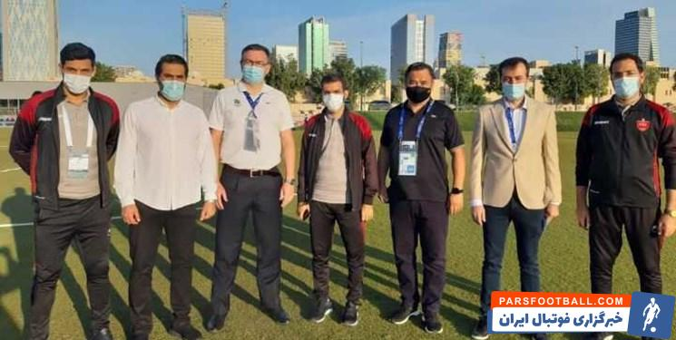 فاش شد ؛ پشت پرده منع شدن پرسپولیس از تمرین در محل برگزاری فینال آسیا