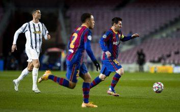 بارسلونا و یوونتوس در لیگ قهرمانان اروپا