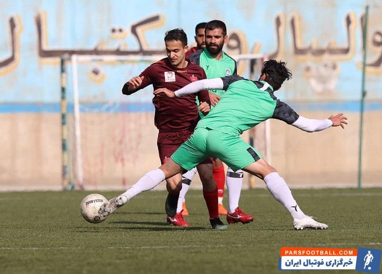 گل مارادونایی سعید حسین پور در بازی دوستانه پرسپولیس