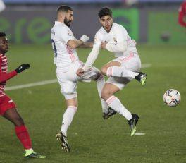 مارکو آسنسیو ستاره اسپانیایی رئال مادرید می توانست در مسابقه دیشب برابر گرانادا یک سوپر گل را به ثمر برساند اما با بدشانسی مواجه شد.