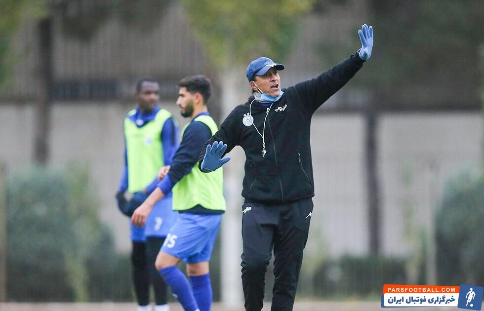 انتقاد صمد مرفاوی مربی استقلال از تغییر برنامه بازی های لیگ برتر