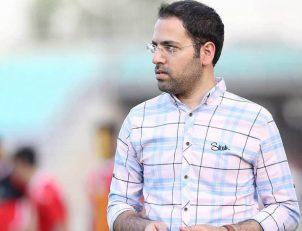 علیرضا اشرف مدیر رسانهای پرسپولیس