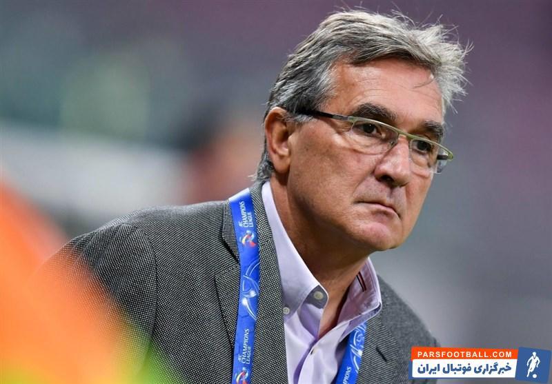 واکنش برانکو ایوانکوویچ به باخت پرسپولیس در فینال لیگ قهرمانان آسیا