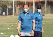 پرسپولیس و نظر مربی نساجی مزندران در مورد متوقف کردن این تیم