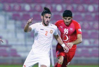 مهدی ترابی و مهرداد محمدی در ترکیب العربی در فینال جام امیر قطر