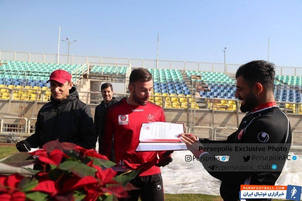 سنگربان مسیحی پرسپولیس کریسمس در تهران !