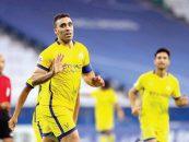 در بازی تیم های النصر و الاهلی عربستان ، سلطان الغنام و عبدالرزاق حمدالله ، بازیکنان تیم النصر با یکدیگر درگیری فیزیکی پیدا کردند .