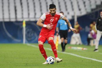 سعید آقایی از پرسپولیس بهترین مدافع چپ آسیا