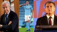 تهدید خوان لاپورتا برای خرید اریک گارسیا توسط بارسلونا
