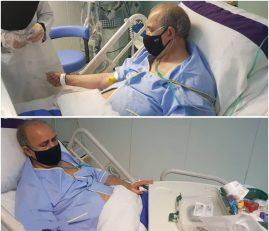 مهدی تاج ، رئیس سابق فدراسیون فوتبال شب گذشته به دلیل مشکل قلبی در بیمارستان ایرانمهر تهران بستری شد.