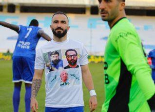 دو پیشکسوت پرسپولیسی بر روی پیراهن بازیکنان استقلال