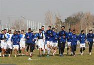 تمرین امروز استقلال تهران
