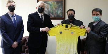 دیدار مدیرعامل سپاهان با سرکنسول روسیه در اصفهان