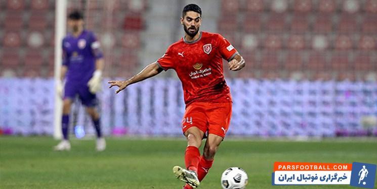 ستاره استقلالی الدحیل قطر : تمرکزمان برای بازی های جام باشگاه های جهان است