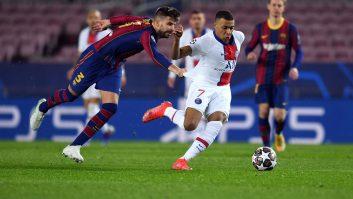 بارسلونا و پاری سن ژرمن در لیگ قهرمانان اروپا