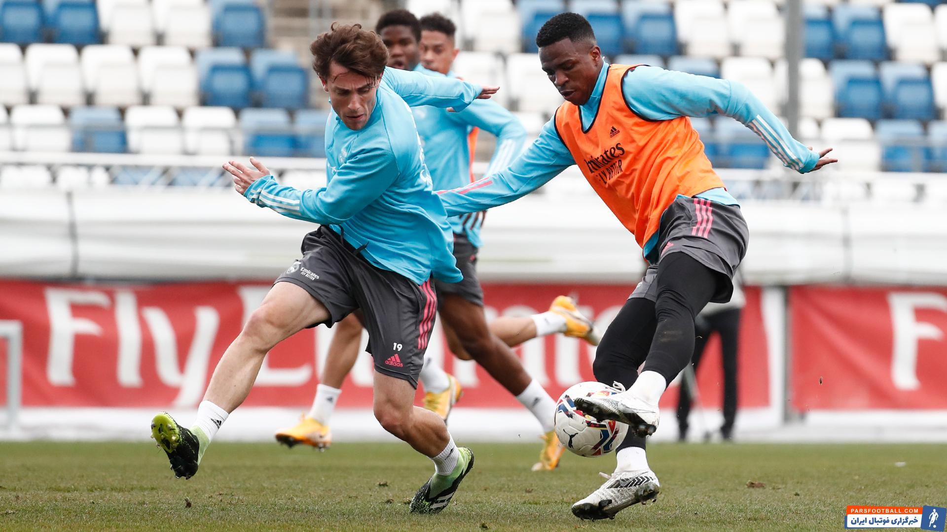 تمرین امروز رئال مادرید