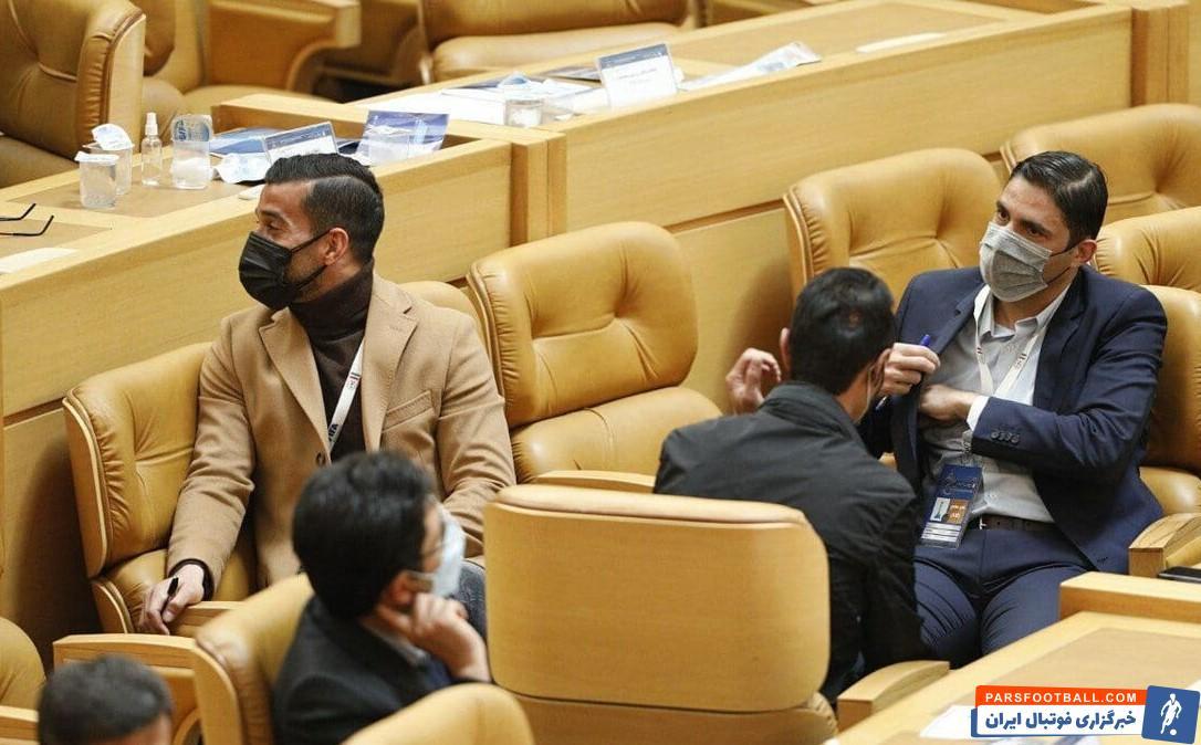 وحید هاشمیان ، احسان حاج صفی و رضا عنایتی سه رای دهنده احتمالی به علی کریمی در انتخابات فدراسیون فوتبال