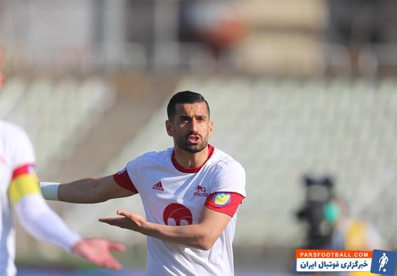 غیبت مشکوک احسان حاج صفی در تمرینات تراکتور ؛ مرخصی یا دلخوری از مدیران باشگاه !