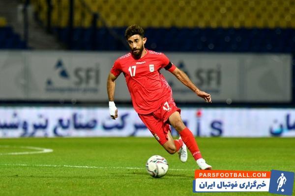 درخشش علی قلی زاده در تیم ملی