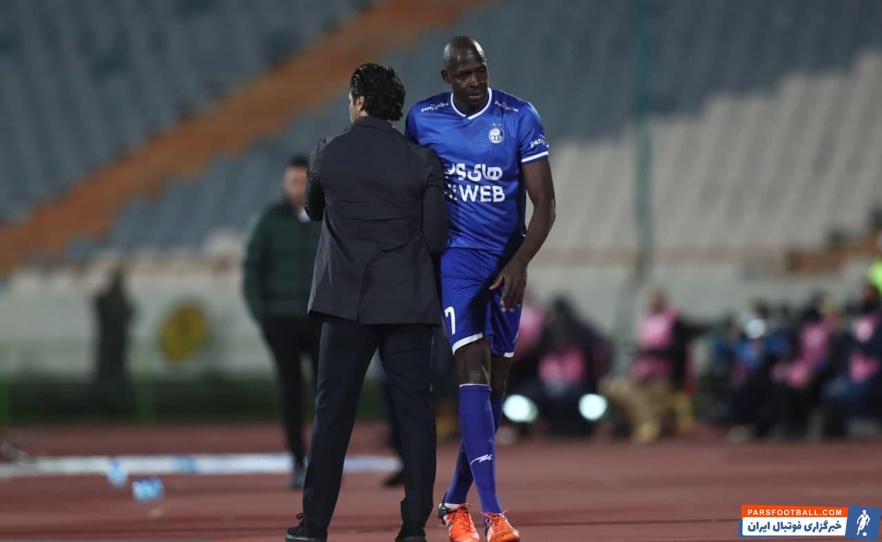 دیاباته ستاره مالیایی آبیها نتوانست بازهم برای تیمش گلزنی کند تا همچنان در حسرت درخشش برای استقلال در لیگ بیستم بماند.