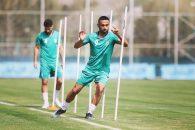 اولین تمرین تیم ملی ایران در سال 1400