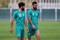 احمد نوراللهی با شماره 8 تیم ملی