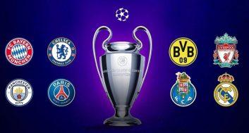 قرعه کشی یک چهارم نهایی لیگ قهرمانان اروپا