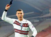 مردود شدن گل صحیح رونالدو در بازی پرتغال و صربستان و واکنش جنجالی او
