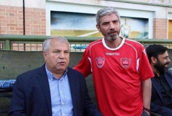 مجتبی محرمی ، ستاره سال های دور پرسپولیس که از بازیکنان مورد علاقه علی پروین بود ، در تمرین امروز پرسپولیسی ها حاضر شد.
