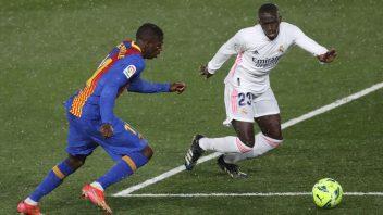 پیروزی شیرین و 2-1 خانگی رئال مادرید مقابل بارسلونا در هفته سی لالیگا