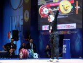 شکسته شدن رکورد وزنهبرداری توسط بانوی ایرانی سیده الهام حسینی