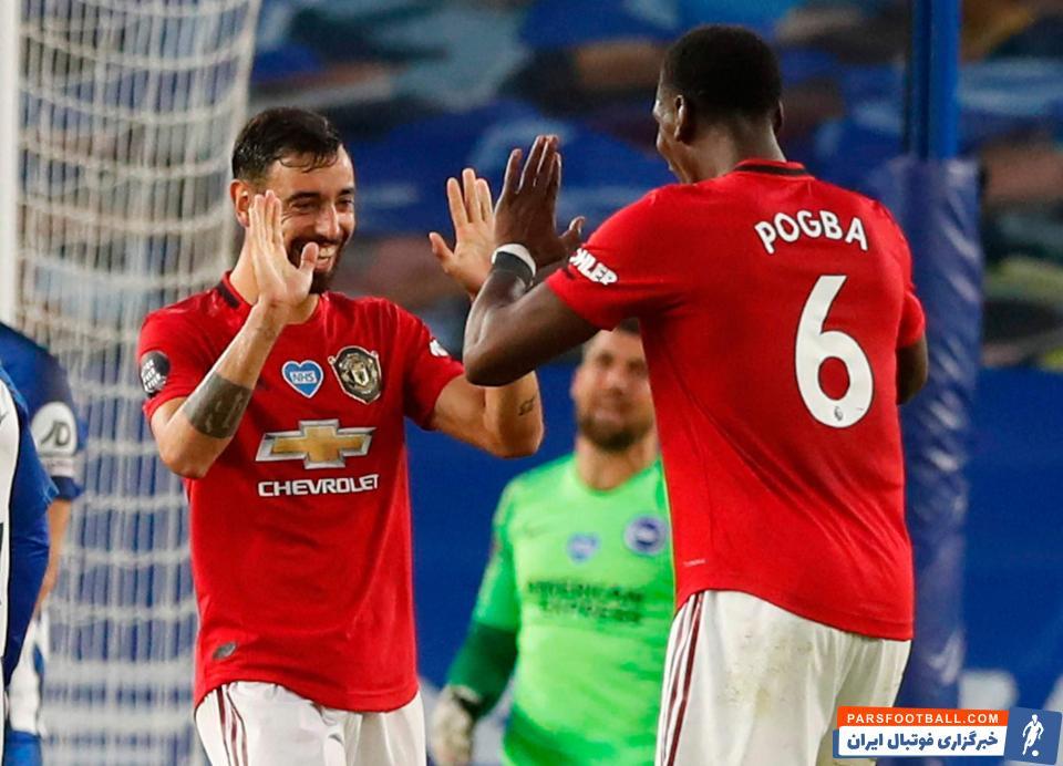 برونو فرناندز، هافبک منچستریونایتد، با تمجید از پل پوگبا، دیگر ستاره این تیم، توضیح داده است که بازی در کنار پوگبا او را تبدیل به بازیکن بهتری کرده است.