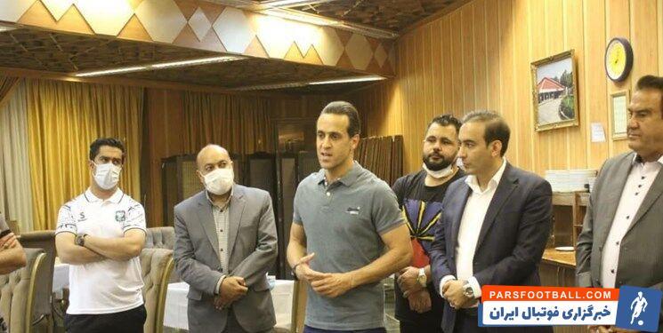 علی کریمی مشاور عالی مالک باشگاه خیبر خرم آباد