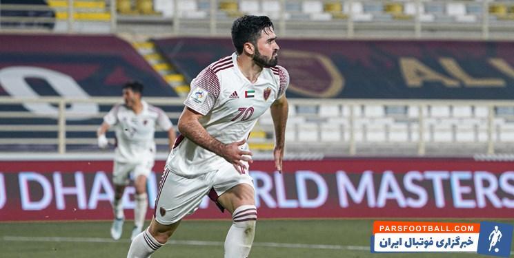 عمر خربین خطرناک ترین بازیکن الوحده و گروه پرسپولیس