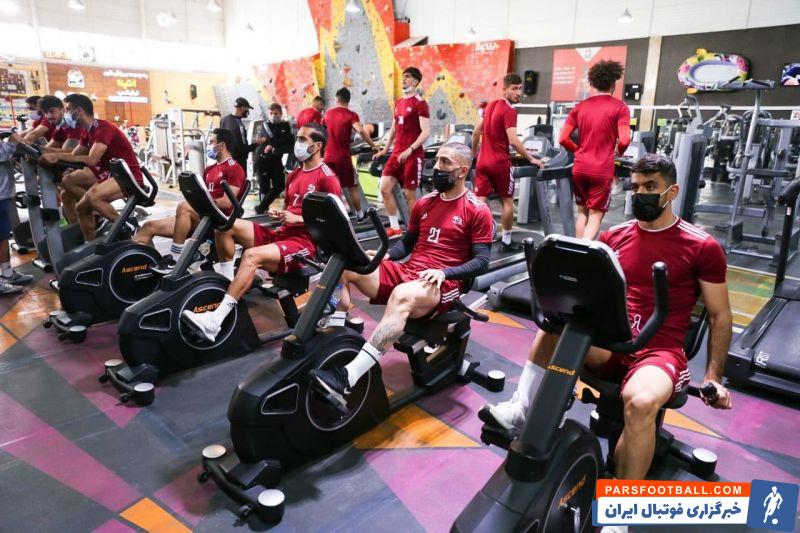 به نقل از رسانه رسمی باشگاه تراکتور ، بازیکنان تیم صبح امروز (دوشنبه) در هتل محل اقامتشان در شهر شارجه امارات راهی سالن بدنسازی شدند.