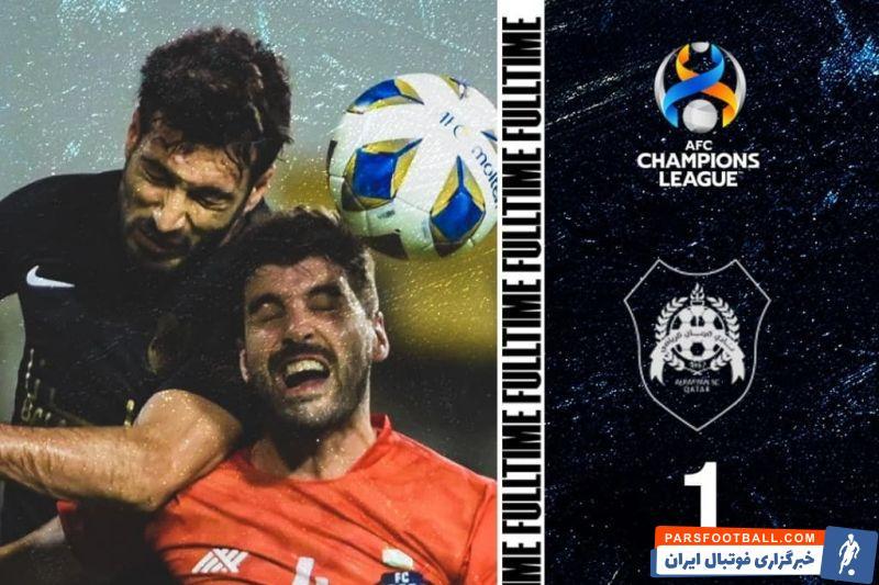 شجاع خلیل زاده بازیکن ایرانی الریان در پایان بازی با گوا، عنوان بهترین بازیکن میدان را به خود اختصاص داد.