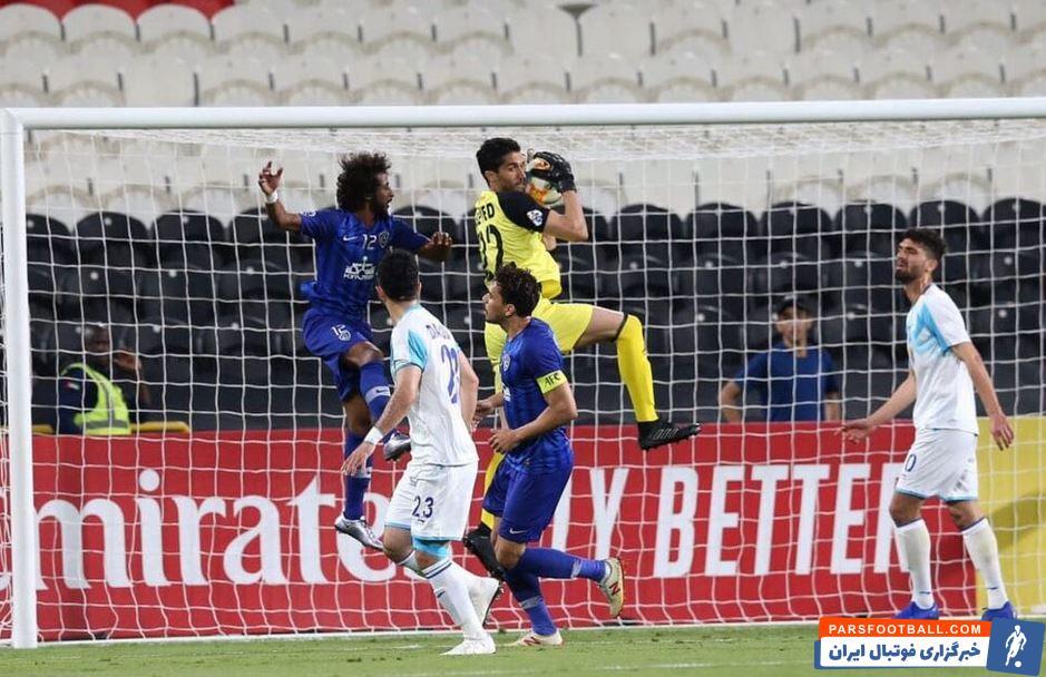 بازی استقلال و الهلال در مرحله یک هشتم لیگ قهرمانان آسیا در تهران