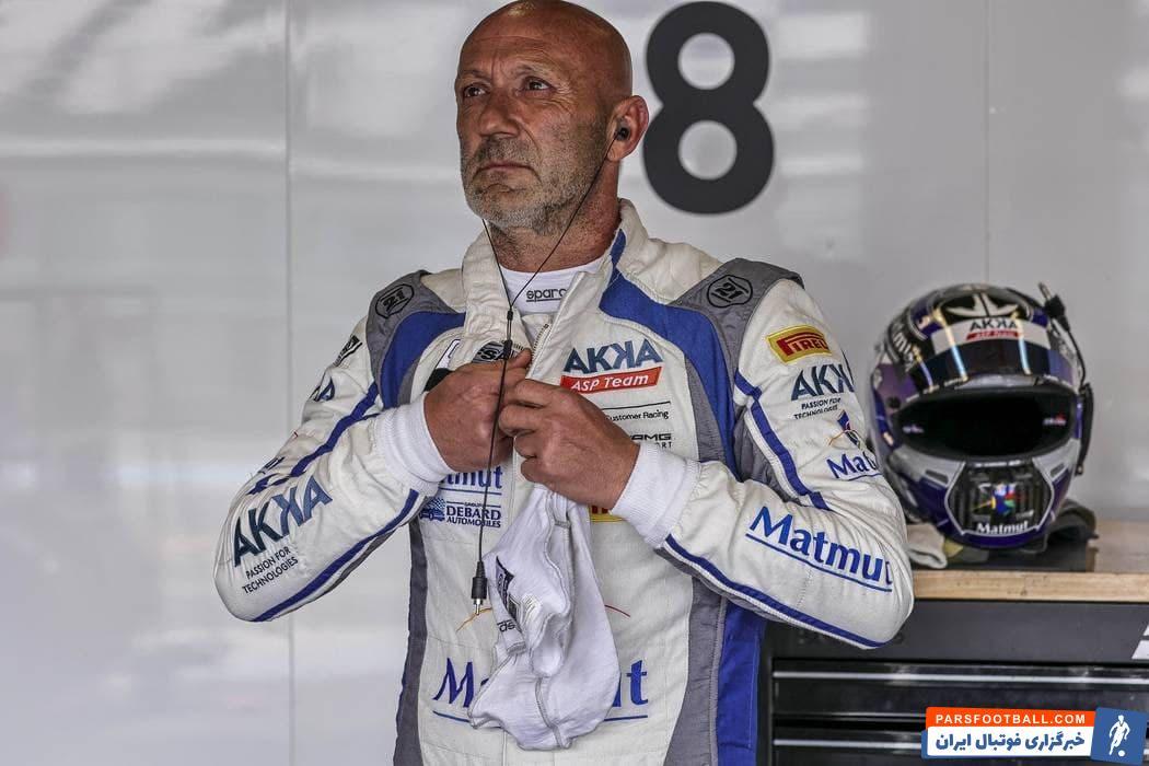 فابین بارتز سنگربان مشهور سالهای گذشته منچستریونایتد، این روزها در نقش یک راننده حرفه ای در مسابقات اتومبیل رانی شرکت می کند.
