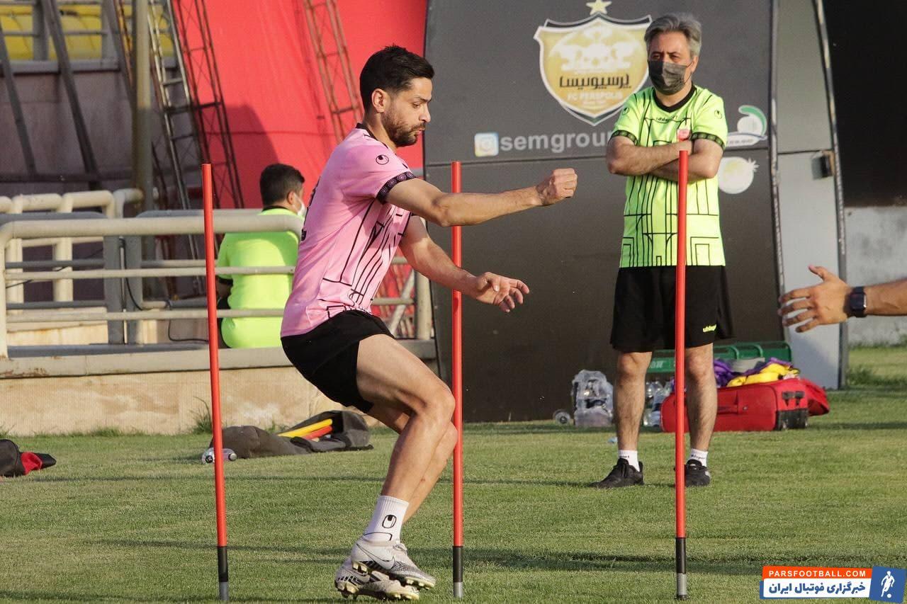 کمال الدین کامیابی نیا هافبک دفاعی پرسپولیس که قطعا نقش تاثیرگذاری در دیدار برابر ذوب آهن خواهد داشت، به دنبال آخرین مجوز برای همراهی تیم است.