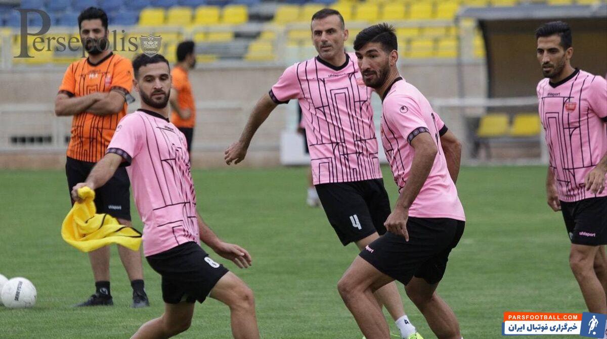 سید جلال حسینی، کمال کامیابی نیا و احمدی نوراللهی در آخرین تمرین پرسپولیس پا به پای دیگر بازیکنان تمرین کردند.