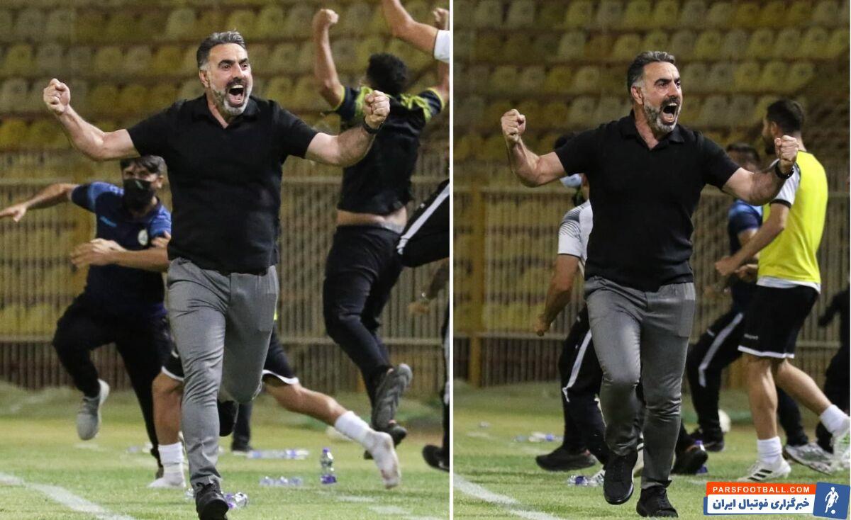 تیم نفت مسجد سلیمان در ادامه روند خوب خود با هدایت محمود فکری ، موفق شد ماشین سازی تبریز را با نتیجه یک بر صفر شکست داده