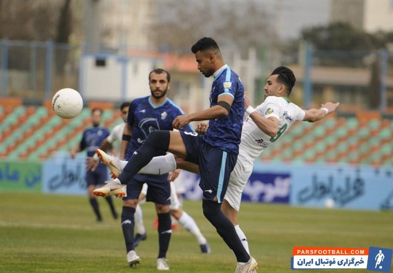 محمدامین درویشی مهاجم پیکان : شانس زیادی برای قهرمانی پرسپولیس در لیگ برتر قائلم