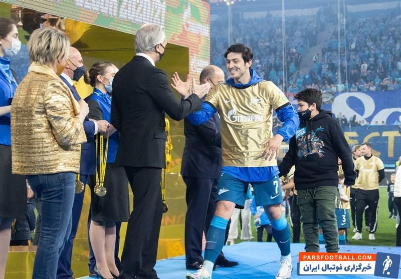 بارانیک پیشکسوت فوتبال روسیه : سردار آزمون جایگزینی در زنیت ندارد