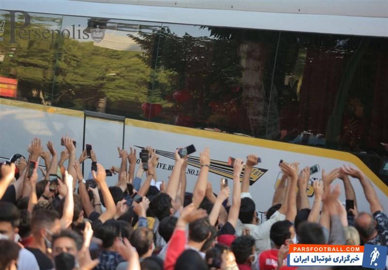 حواشی بازی پرسپولیس و سپاهان و حضور پررنگ هواداران دو تیم