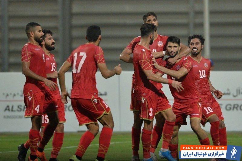 دیدار تدارکاتی تیم ملی بحرین و تیم ملی اوکراین